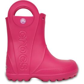 Crocs Handle It Gummistøvler Børn, pink